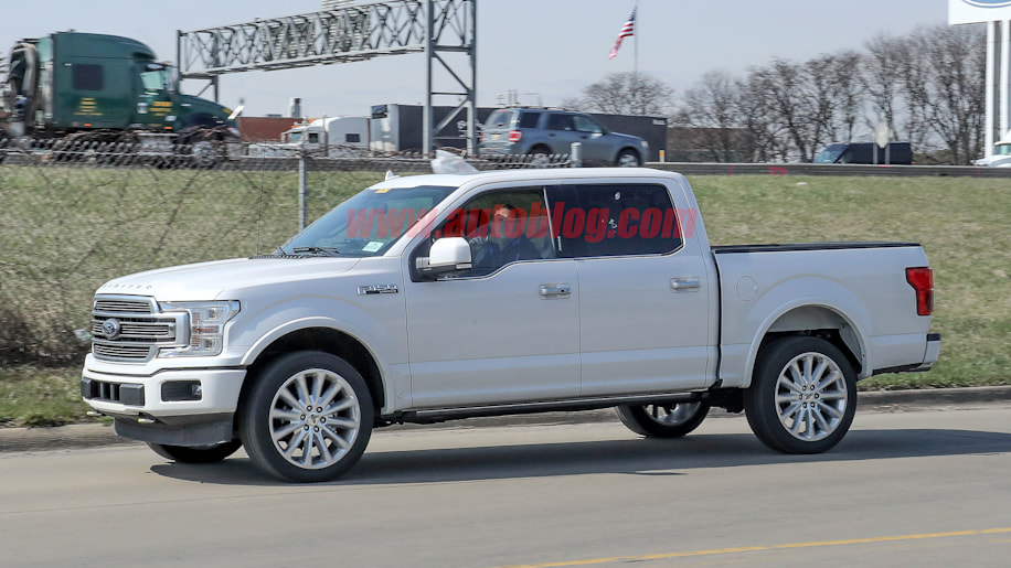 Limited Edition Silverado >> 2019 Ford F-150 gets updated styling similar to crosstown rivals - Autoblog