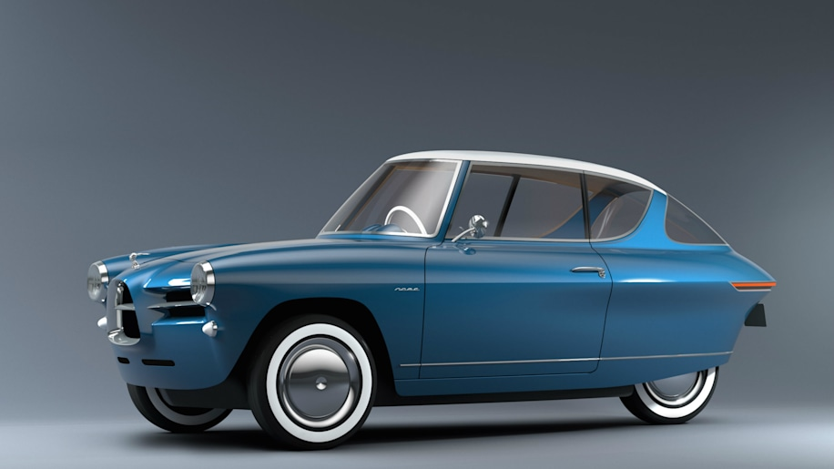 Nobe 100 is an EV with vintage cuteness 'that you want to lick'