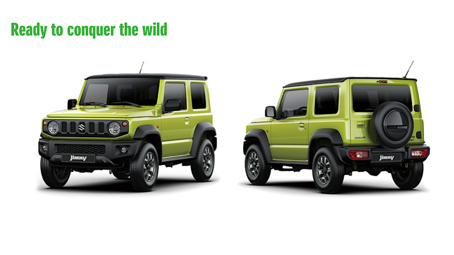2019 Suzuki Jimny Is Here In Official Images Autoblog