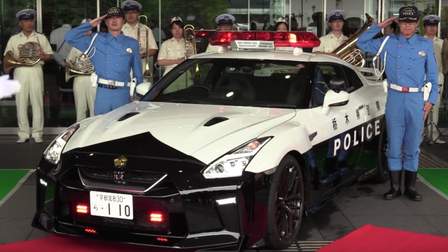 Nissan delivers GT-R police car to Tochigi Prefecture police - Autoblog
