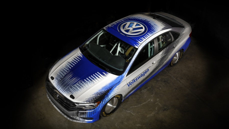 Volkswagen Is Taking Another Jetta To Bonneville This Time A Non Hybrid