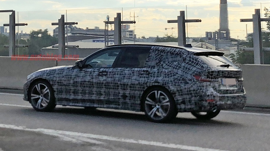 BMW 3 Series Wagon Spied In Near Production Form
