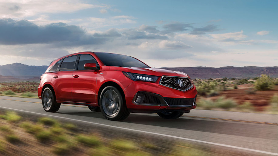 2019 Acura MDX three-row crossover gets sharper handling and looks on