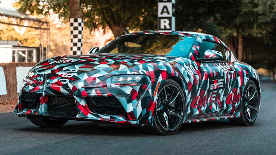 2019 Toyota Supra may get a four-cylinder - Autoblog