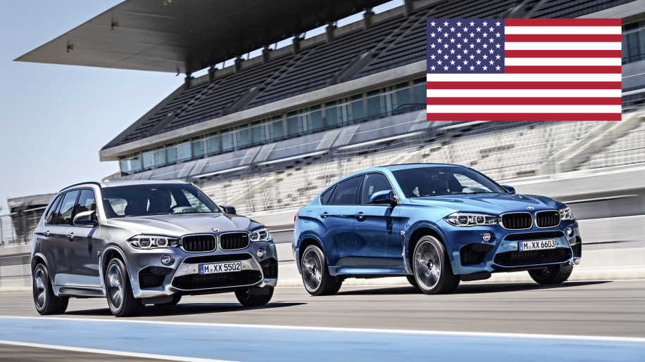 BMW X5 M and X6 M - United States