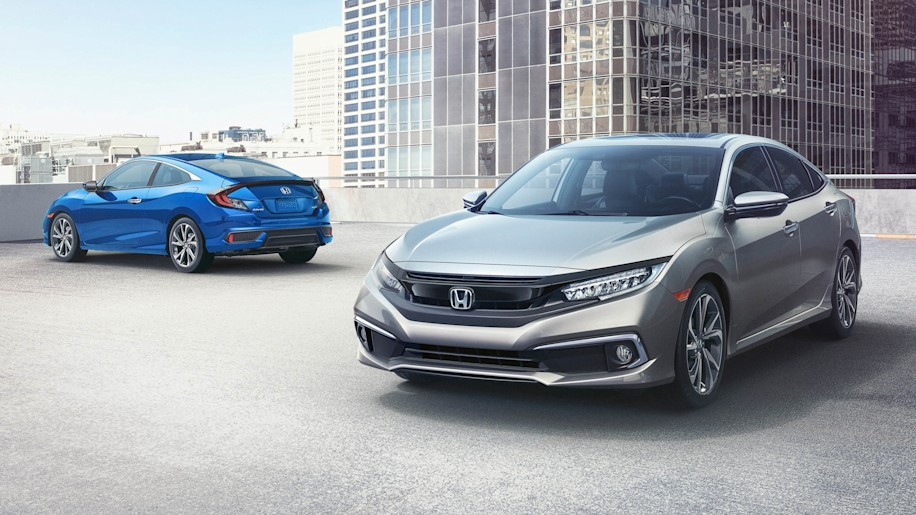 2019 Honda Civic Sedan Coupe Add Sport Trim Safety Features
