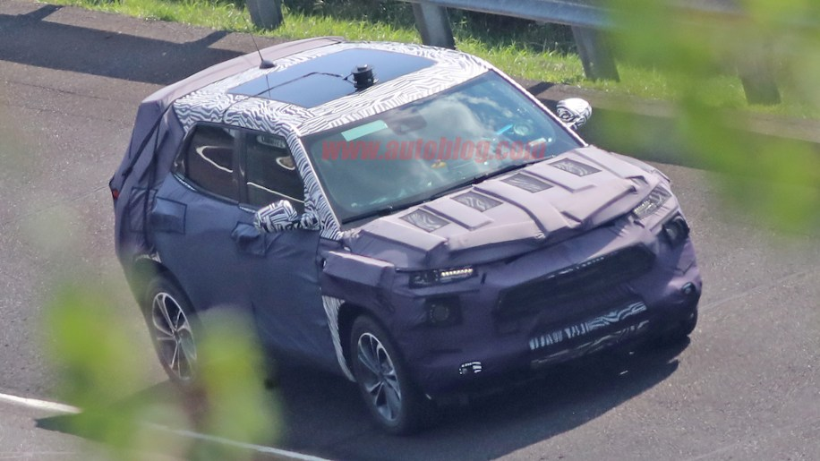2020 Chevy Trax and Buick Encore spied testing