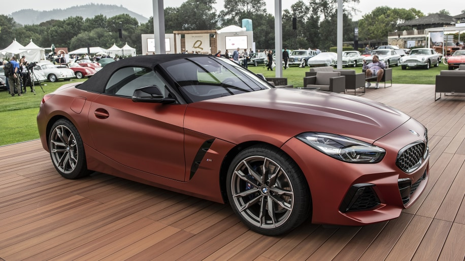 2019 Bmw Z4 M40i Revealed At Pebble Beach Autoblog