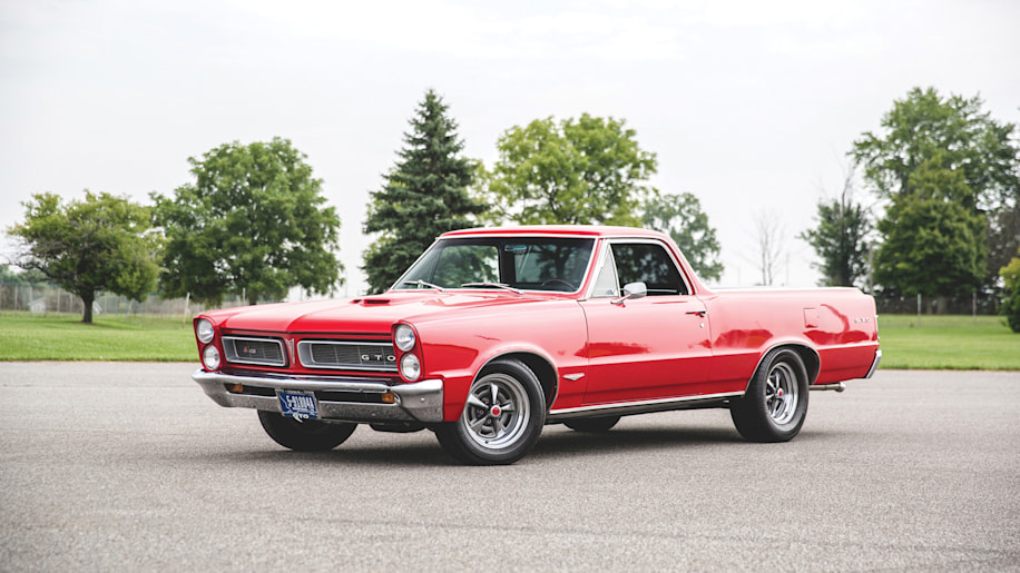 This GTO-El Camino mashup is the muscle truck of our ...