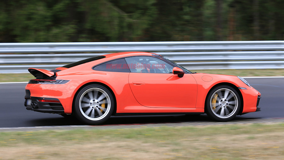 2020 Porsche 911 Carrera 992 Spied With Large Active
