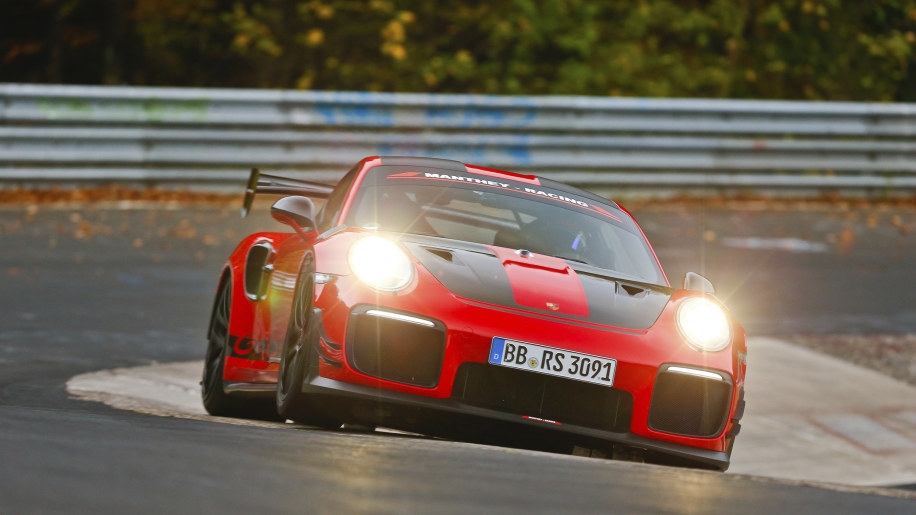 Porsche 911 GT2 RS Reclaims The Nurburgring Lap Record