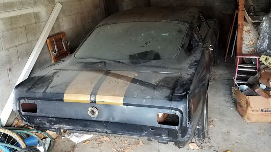 1966 Ford Mustang Shelby GT350H barn find