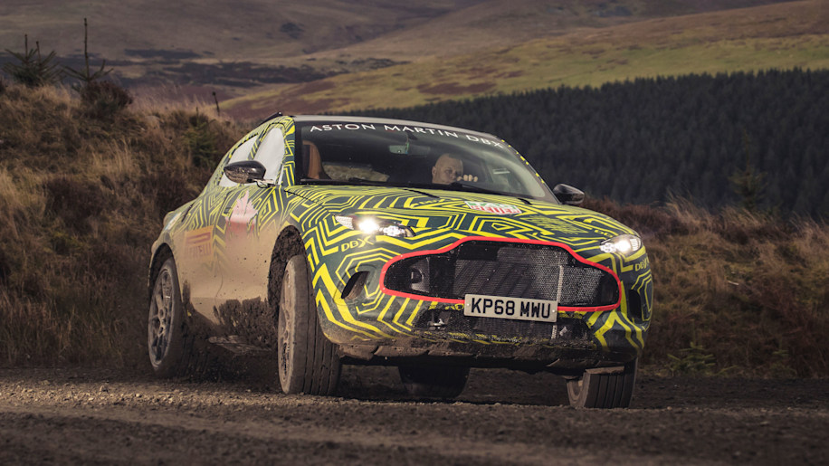 Behold the Aston Martin SUV: Officially named DBX, coming in 2019