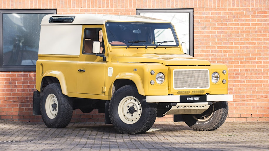 Twisted Land Rover Defender