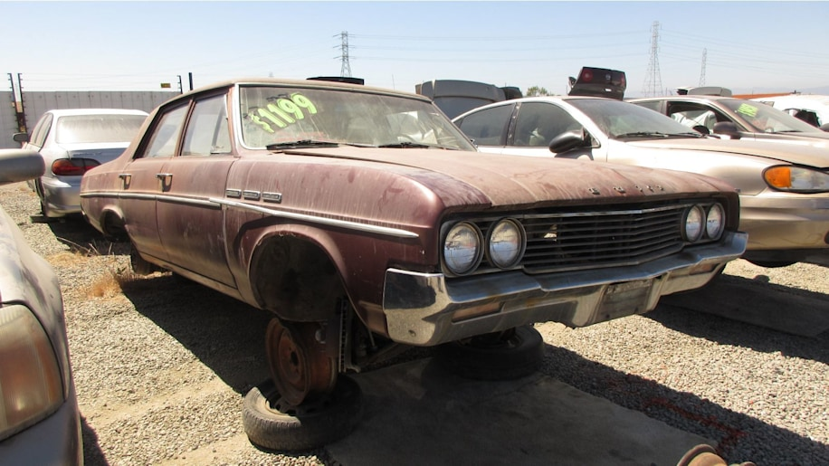 1964 Buick Special in California wrecking yard