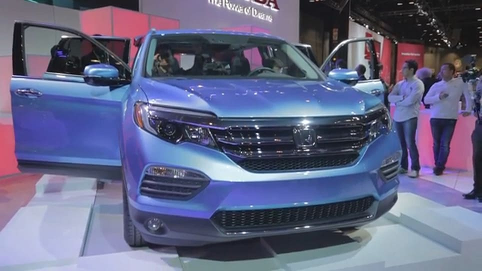 2016 Honda Pilot Videos