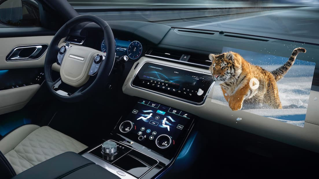 Jaguar's New 3D Virtual Reality Tech Is Pretty Wild