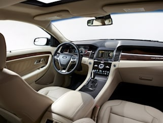 2016 Ford Taurus Vs Chevrolet Impala And Hyundai Genesis Interior Photos