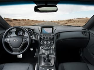 2016 Hyundai Genesis Coupe Vs Chevrolet Camaro And Ford Mustang Interior Photos