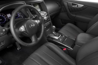 2013 INFINITI FX50 vs 2013 Lexus GX 460 and 2013 Mercedes