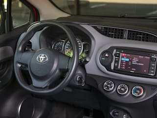 2017 Toyota Yaris Vs Honda Fit And Ford Fiesta Interior Photos