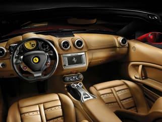 Compare 2011 Ferrari California Interior Photos