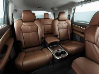 2017 INFINITI QX60 Vs 2017 Acura MDX And 2017 Chrysler Pacifica   Interior  Photos