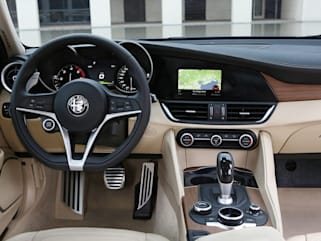 2018 Alfa Romeo Giulia Vs 2018 Acura Tlx And 2018 Audi A4 Interior