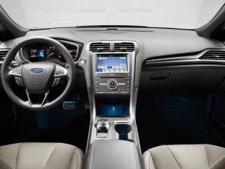 2018 Ford Fusion Vs Chevrolet Impala And Hyundai Sonata Interior Photos
