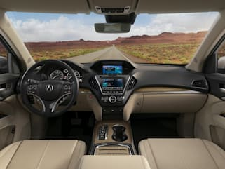 2019 Acura Mdx Vs Lexus Gx 460 And Rx 350l Interior Photos