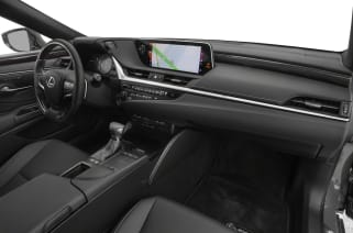 2019 Lexus Es 300h Vs Toyota Avalon Hybrid And Buick Lacrosse Interior Photos
