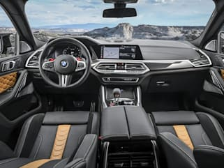 Bmw X6 M Competition 2020 Interior