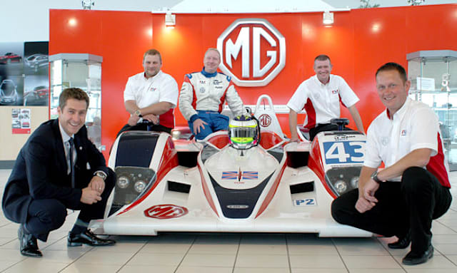 MG returns to Le Mans