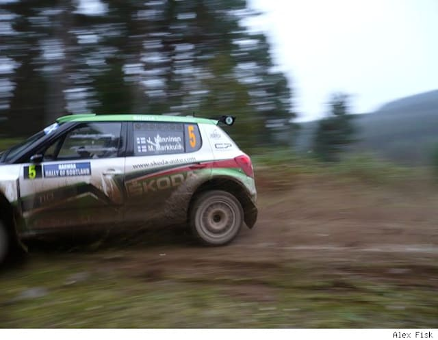 Highlights from the IRC Rally of Scotland