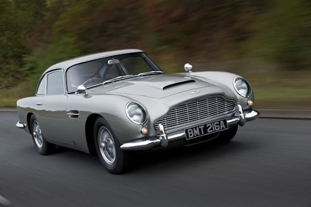 Top 5 Influential Aston Martins