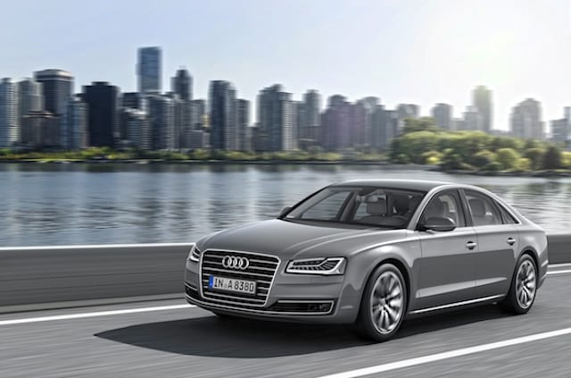 Audi A8 and S8