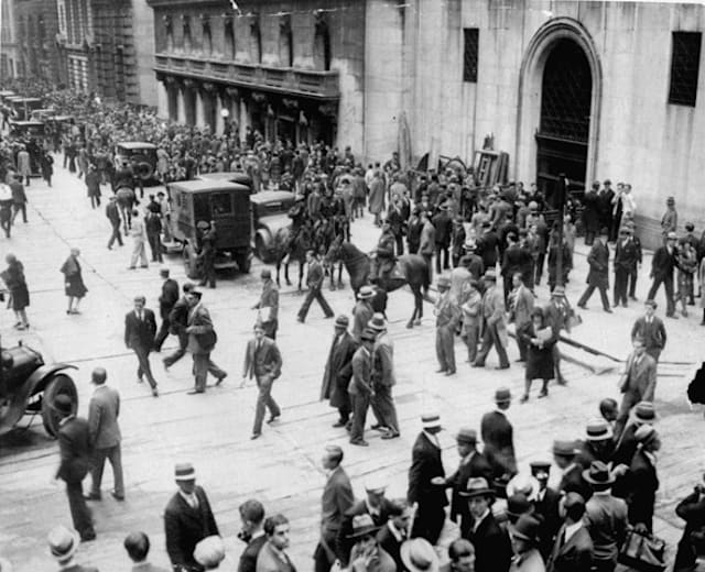 The five worst financial crises of our time