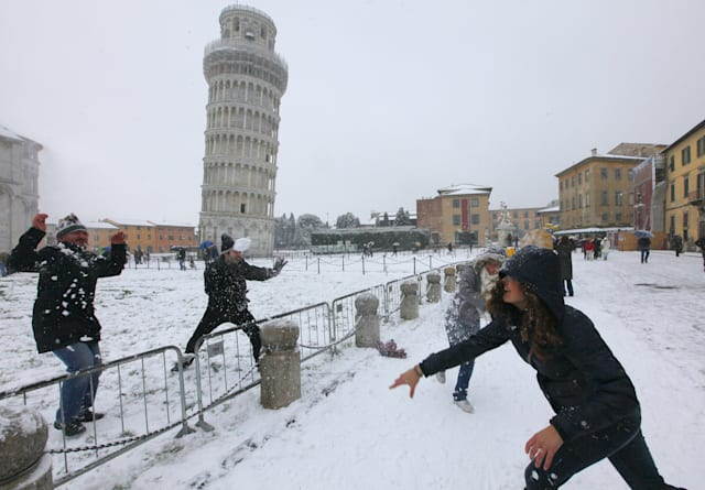 Winter weather around the world