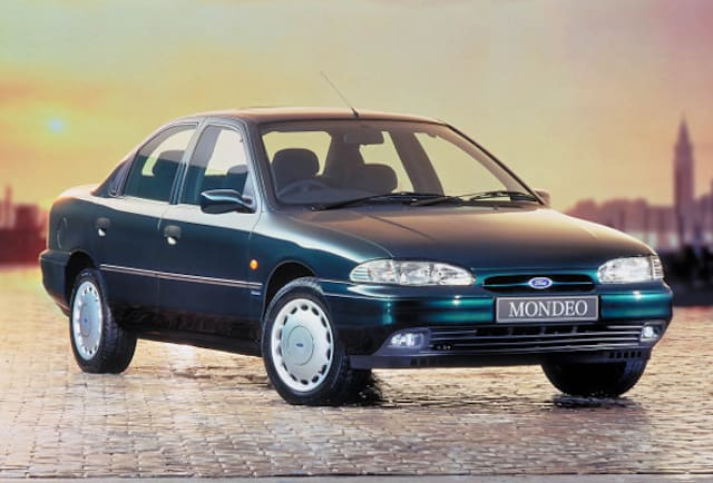 Ford Mondeo through the ages