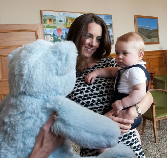 Prince George in New Zealand: first playgroup