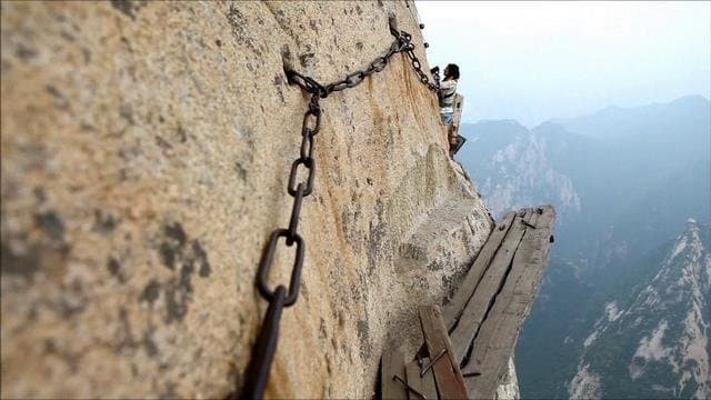 World's scariest walks