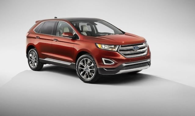 Ford Edge for Europe