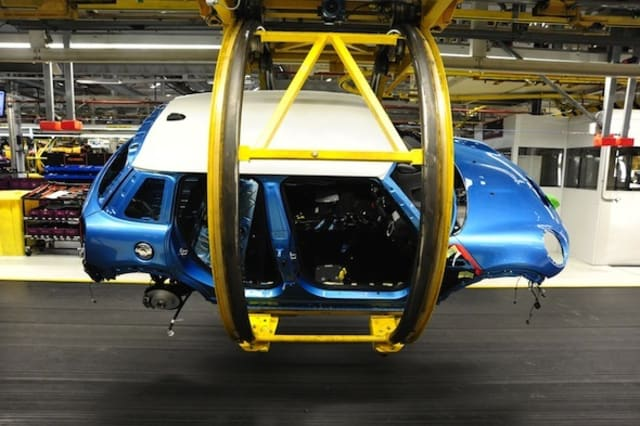 New Mini five-door begins production