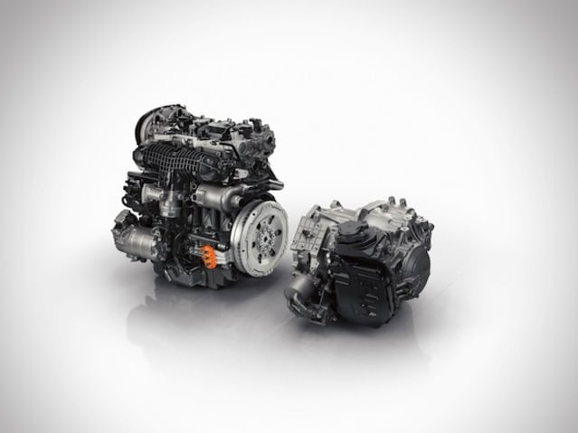 New Volvo hybrid powertrain