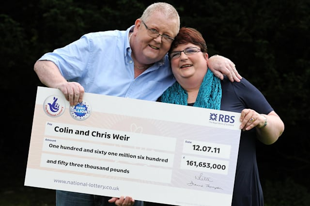 Biggest UK lottery winners