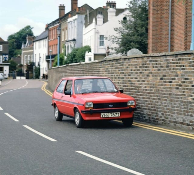 The Ford Fiesta: Then and now