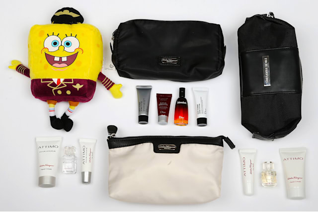Airline amenity kits reviewed by Cheapflights.co.uk
