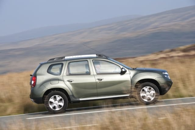 Refreshed Dacia Duster