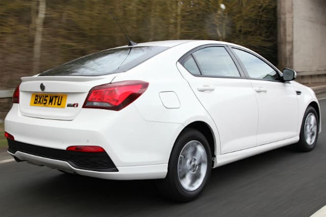 Facelifted MG 6