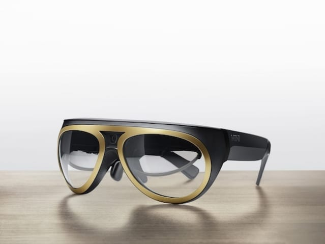 Mini augmented reality glasses